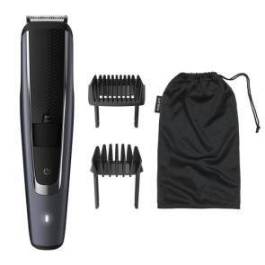 Philips BEARDTRIMMER Series 5000 Barbero con posiciones de 0,2 mm de precisión - Imagen 1