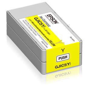 GJIC5(Y): Ink cartridge for ColorWorks C831 (Yellow) (MOQ=10) - Imagen 1