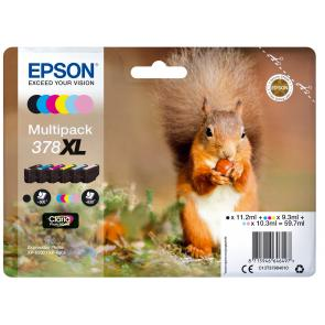 Squirrel Multipack 6-colours 378XL Claria Photo HD Ink - Imagen 1