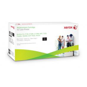 Xerox negro. Equivalente a Brother TN2120. Compatible con Brother DCP-7030/7040/7045W, HL-2140/HL-2150N/HL-2170W, MFC-7320/7340/
