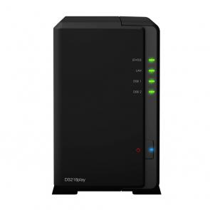 DiskStation DS218play RTD1296 Ethernet Compacto Negro NAS - Imagen 1