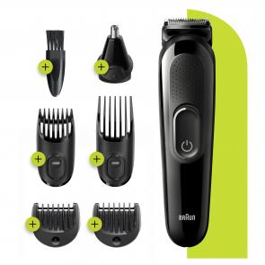 All-in-one MGK3220 depiladora para la barba Negro - Imagen 1