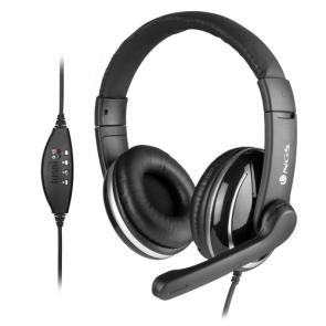 NGS VOX800 USB Auriculares Diadema USB tipo A Negro - Imagen 1